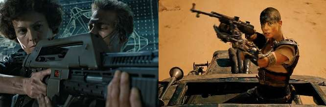 BEFORE FURIOSA THERE WAS…  An ode to Sci-Fi's reigning queen
